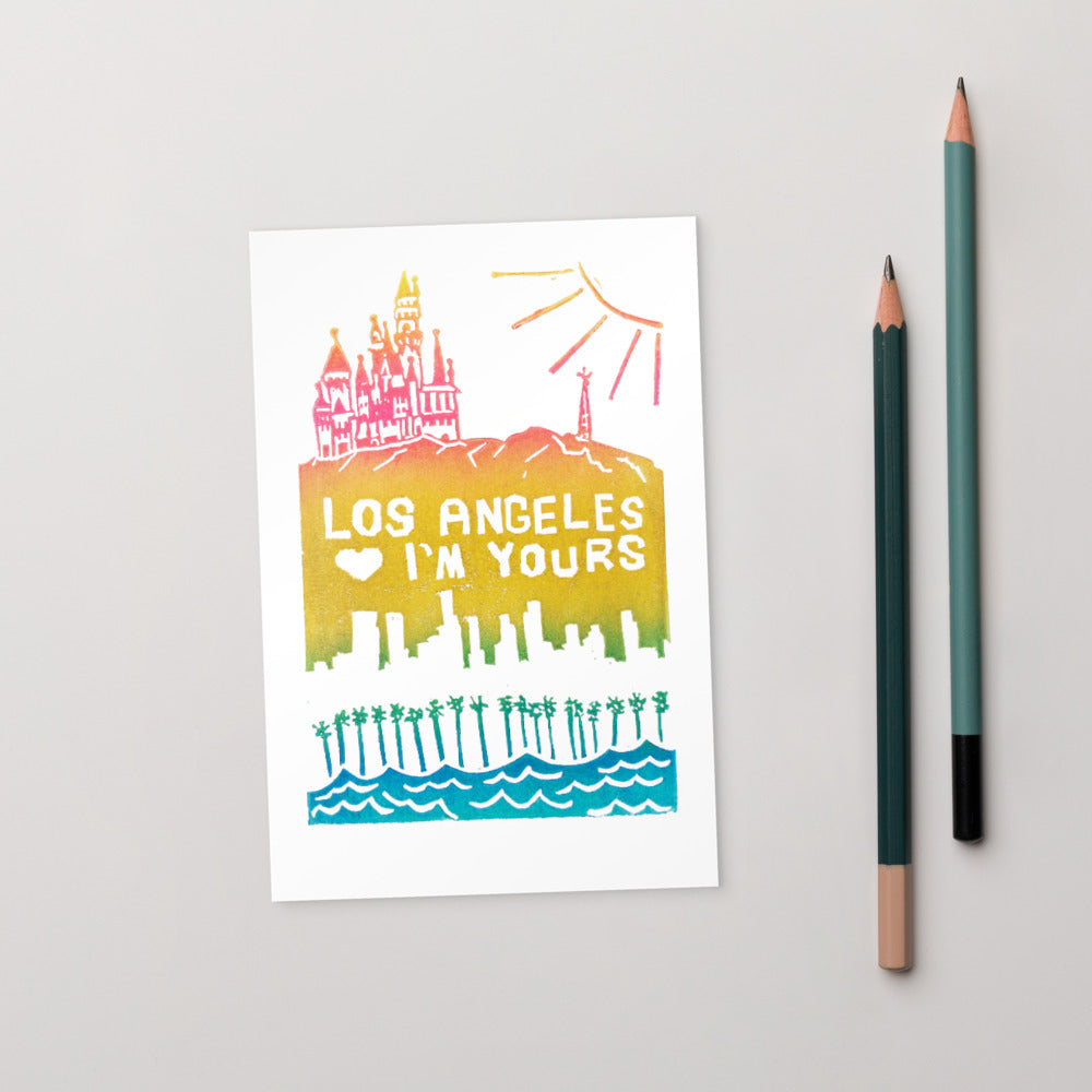 Los Angeles, I'm Yours Standard Postcard