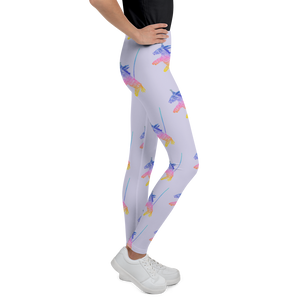 Happy Happy Joy Joy Donkey Piñata Youth Leggings