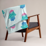 Hamsa Throw Blanket