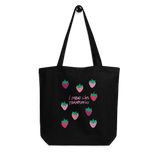 I Spread Like Strawberries Eco Tote Bag