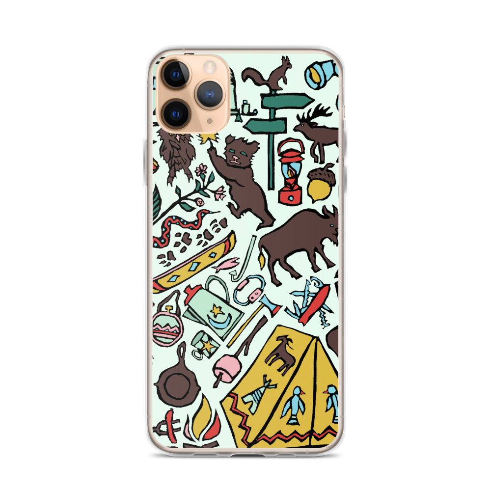Whimsical Wilderness iPhone Case