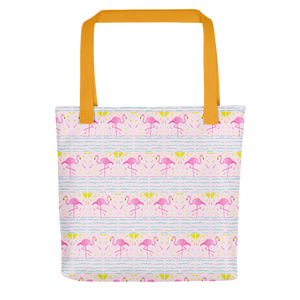 Flamingo Rays Tote Bag