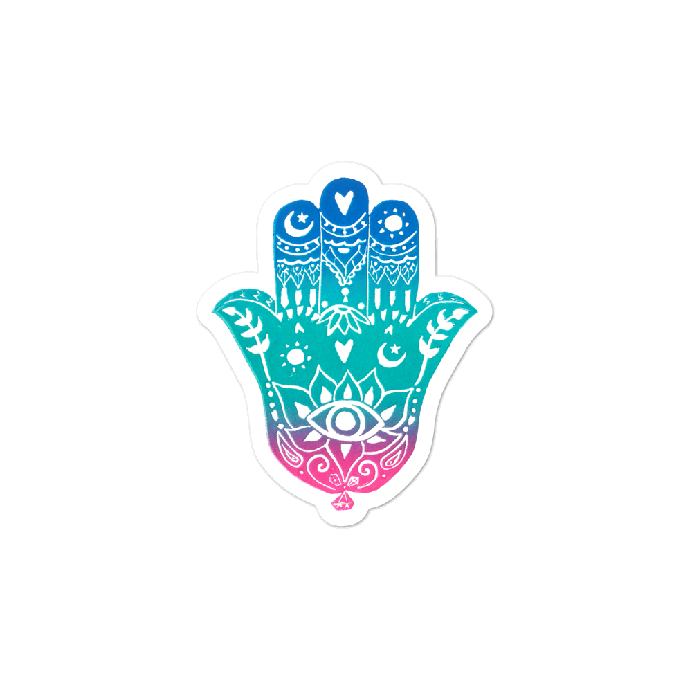 Hamsa Bubble-free Stickers