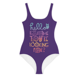 Hello Is It Me You're Looking For Youth Swimsuit