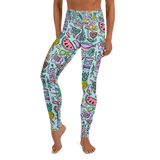 Tropical Fantasies Yoga Leggings