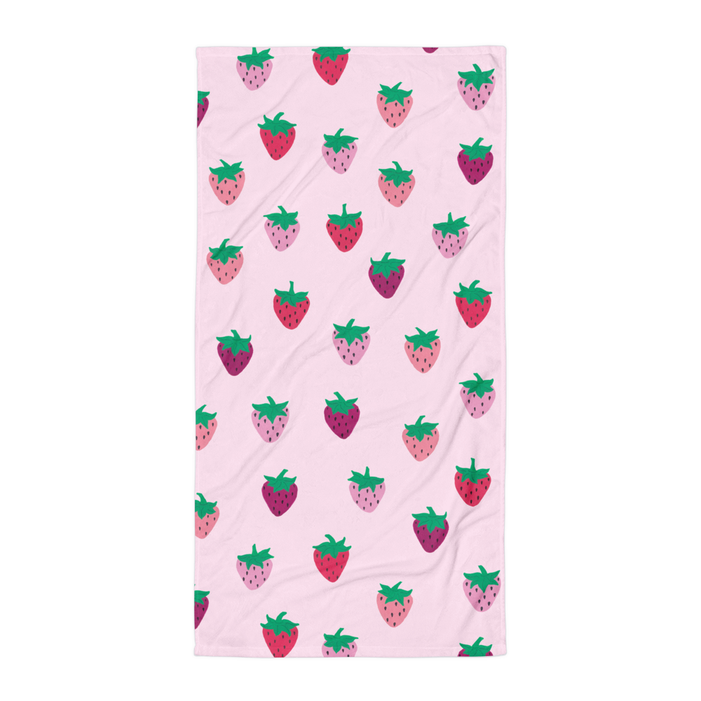 Strawberry Patch Towel