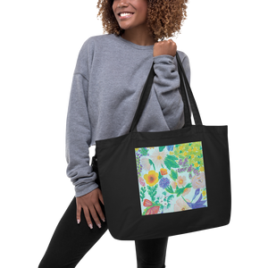 Garden For The Enlightenment Large Eco Tote Bag