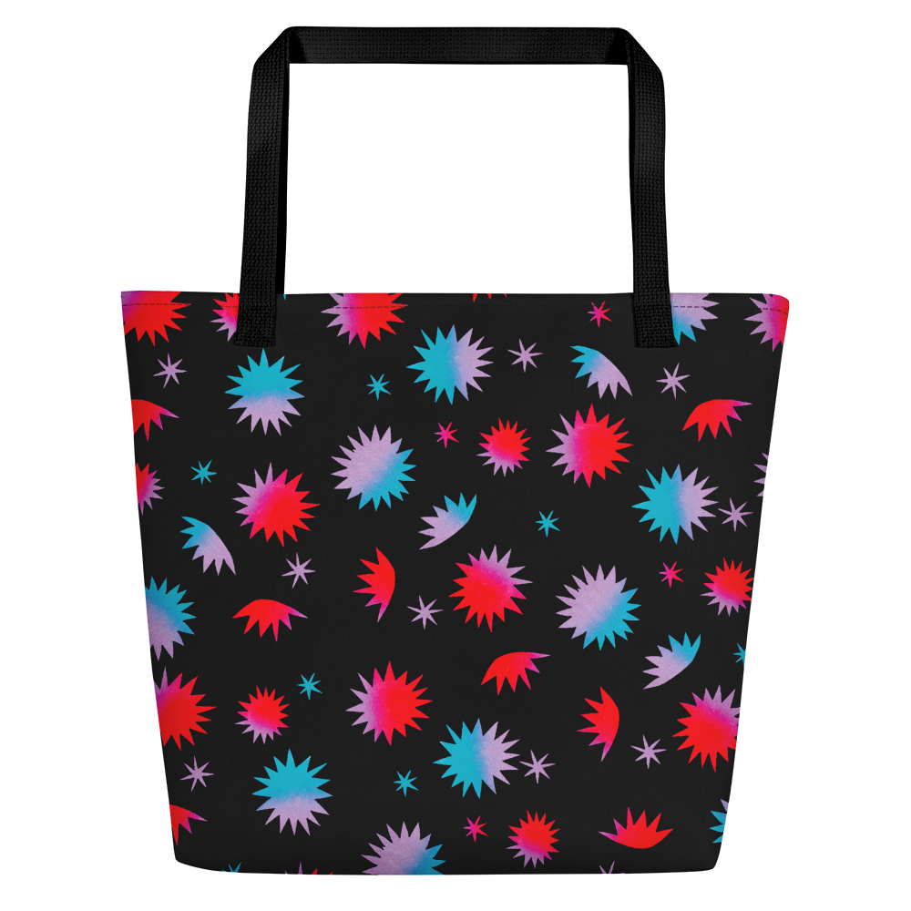 Own The Night Beach Bag