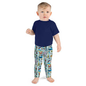 Nautical Drifts Kids Leggings
