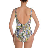 Cocktail Hour One-Piece Swimsuit