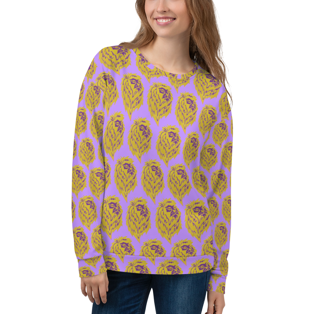 Lion Pride Pattern Sweatshirt