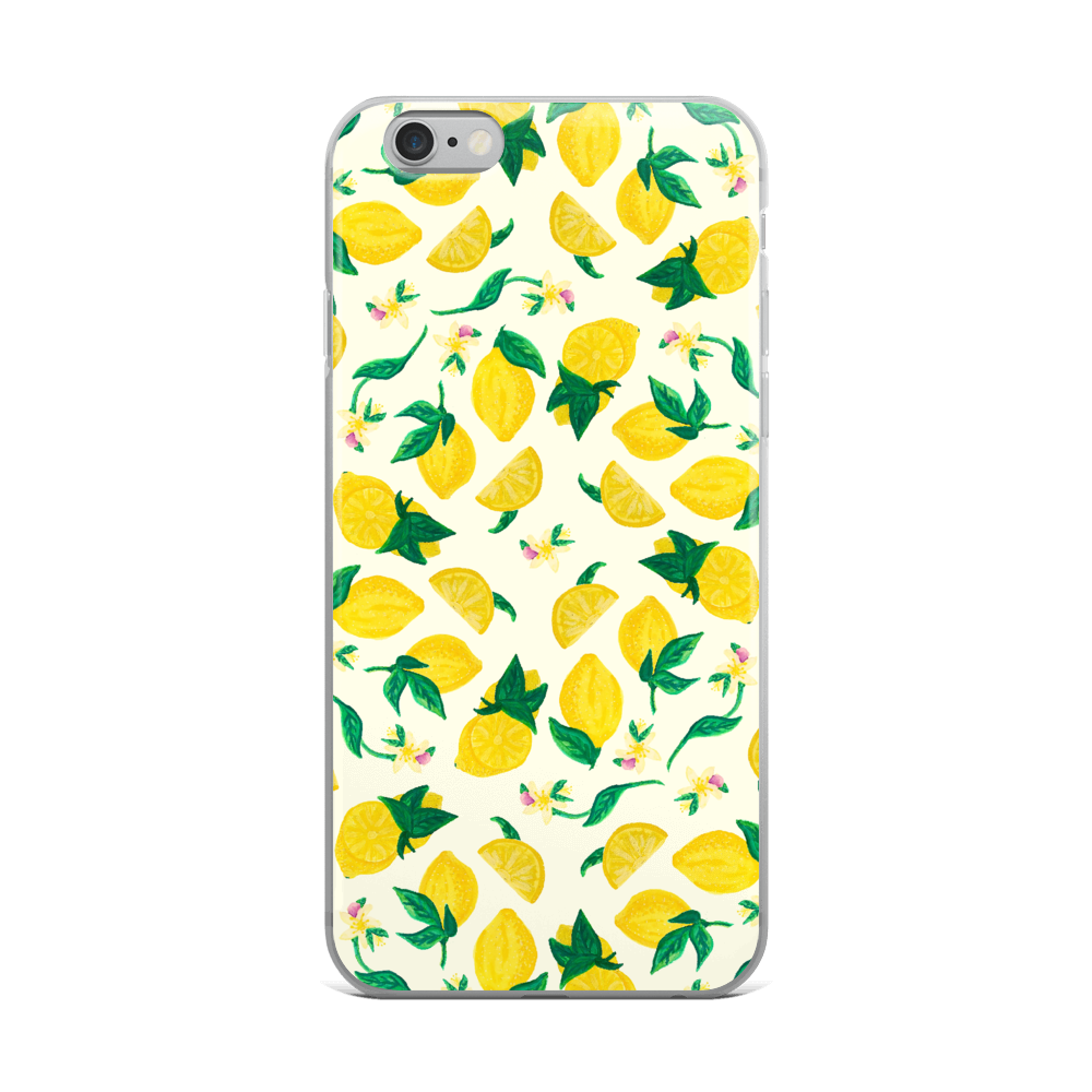 Citrus Blossom iPhone Case