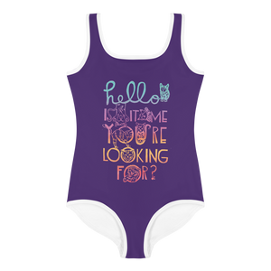 Hello Is It Me You're Looking For Kids Swimsuit
