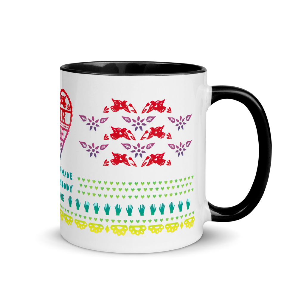 Your Love Was Handmade For Somebody Like Me Mug with Color Inside