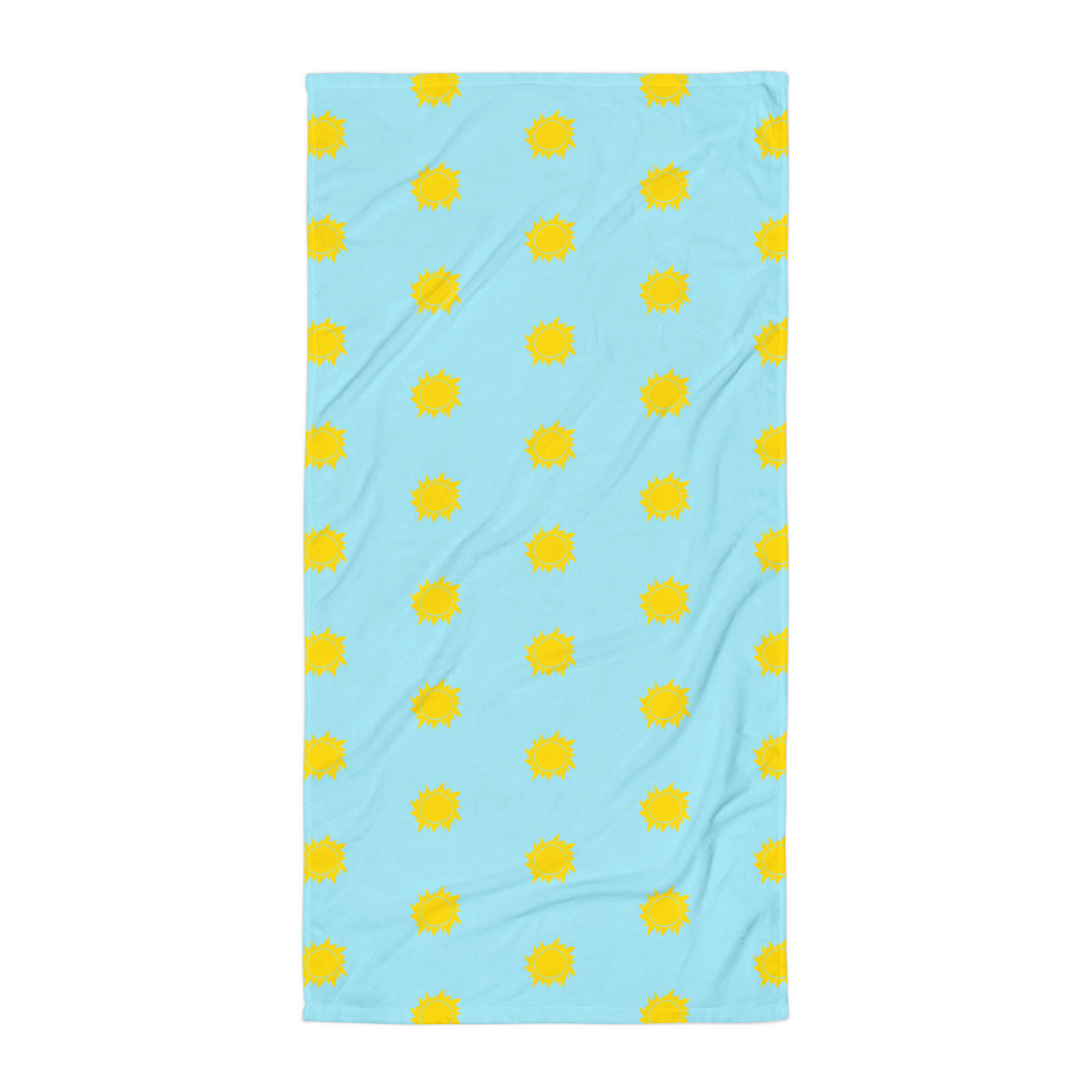 Retro Sun Towel