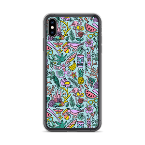 Tropical Fantasies iPhone Case