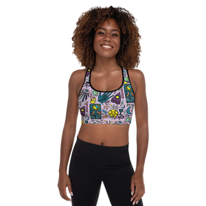 The Magic Spell You Cast Padded Sports Bra