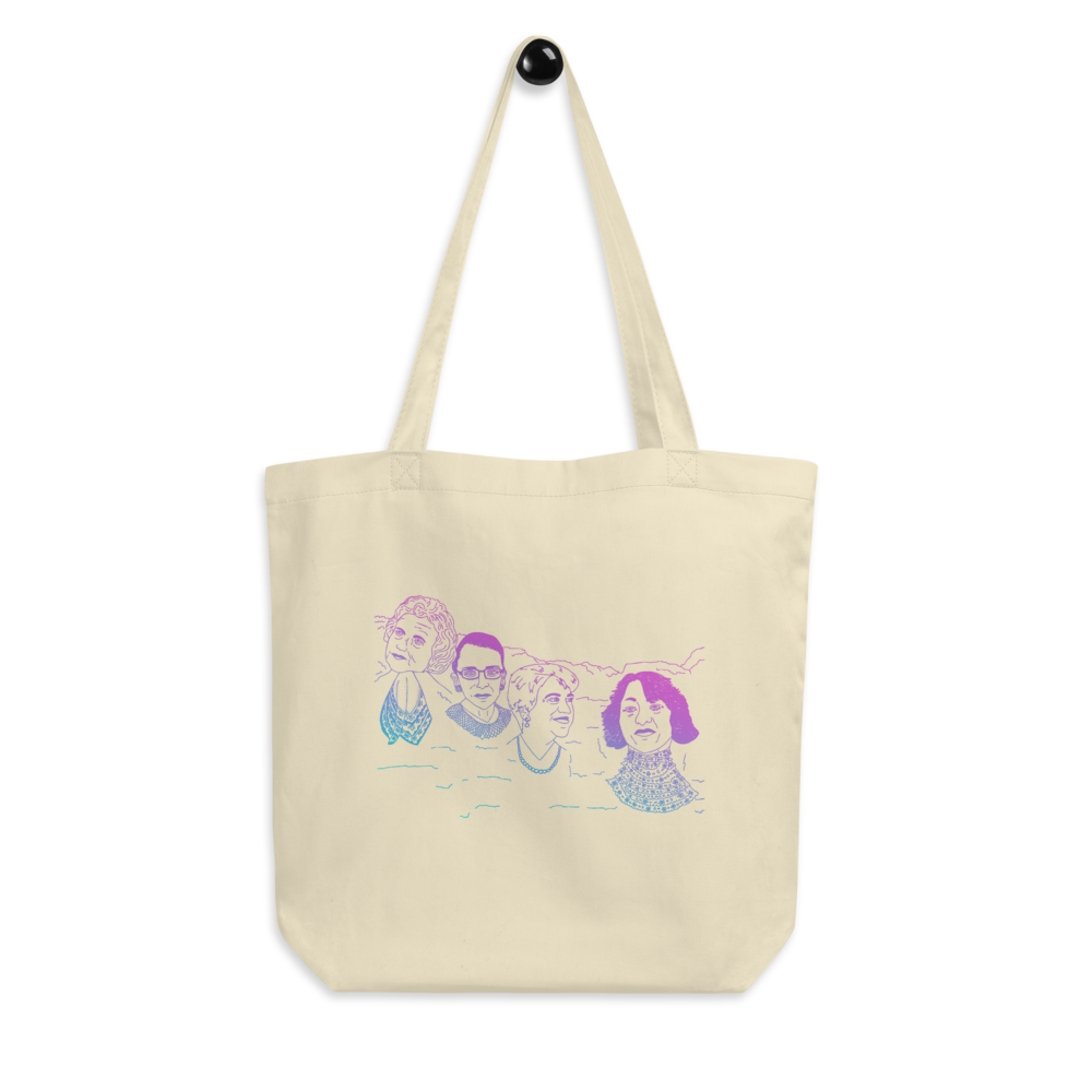 Mount Bushmore Eco Tote Bag
