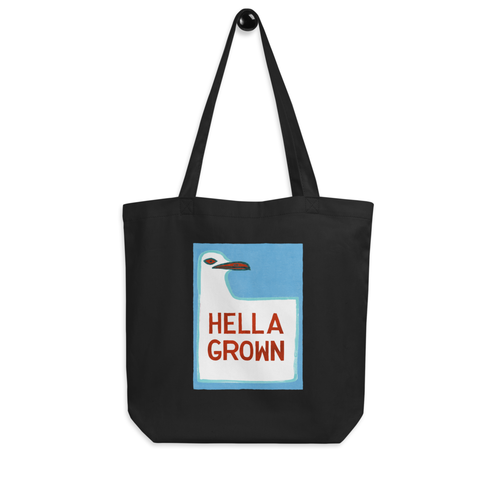Hella Grown Eco Tote Bag