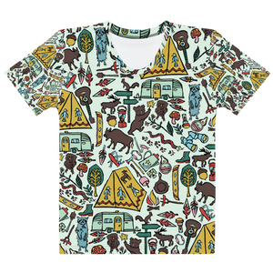 Whimsical Wilderness Adult T-Shirt