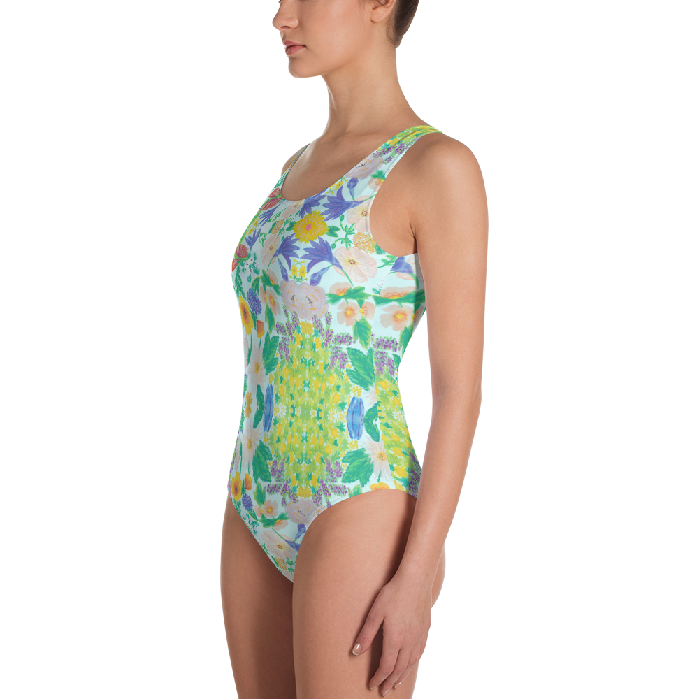 Garden for the Enlightenment One-Piece Swimsuit