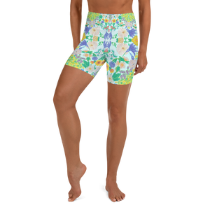 Garden for the Enlightenment Yoga Shorts