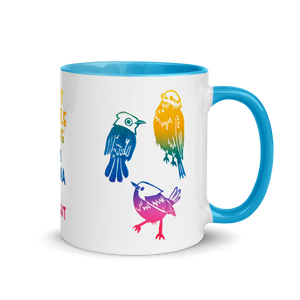 Every Little Thing Is Gonna Be Alright Mug with Color Inside