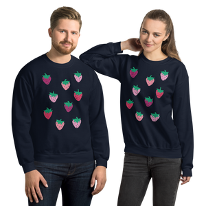 Strawberry Patch Adult Sweatshirt