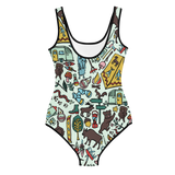 Whimsical Wilderness Youth Swimsuit