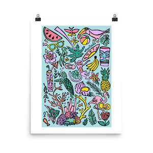 Tropical Fantasies Art Prints