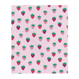 Strawberry Patch Throw Blanket
