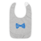 Astral Bow Tie Embroidered Bib