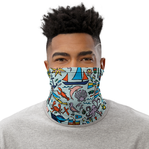 Nautical Drifts Neck Gaiter