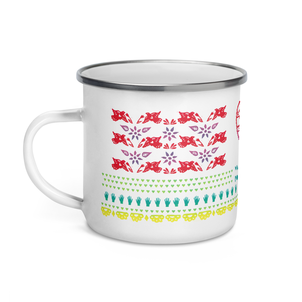 Your Love Was Handmade For Somebody Like Me Enamel Camping Mug