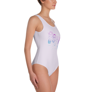 Mount Bushmore One-Piece Swimsuit
