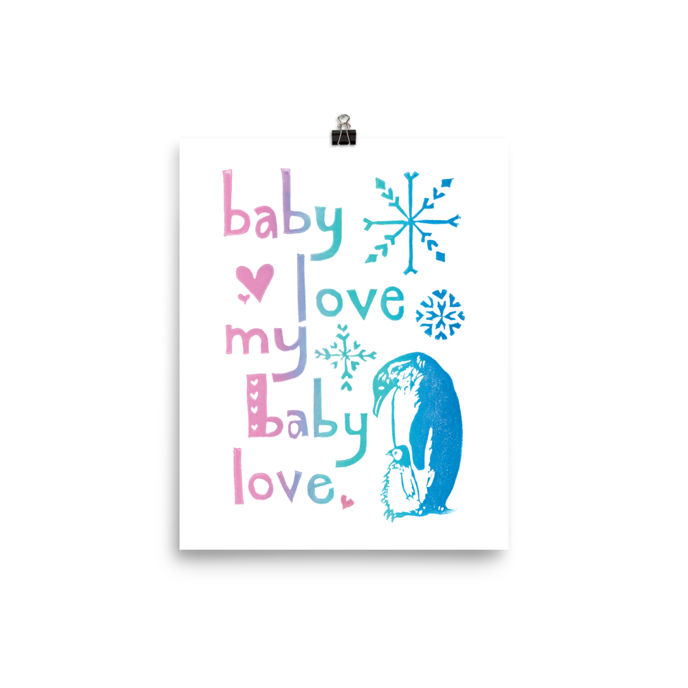 Baby Love My Baby Love Art Prints