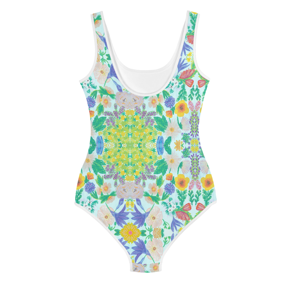 Garden for the Enlightenment Youth Swimsuit