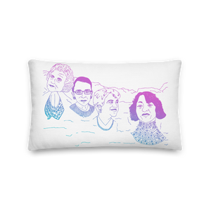 Mount Bushmore Premium Pillow