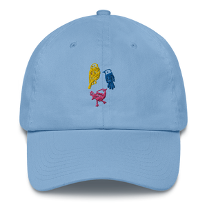Three Little Birds Cotton Cap