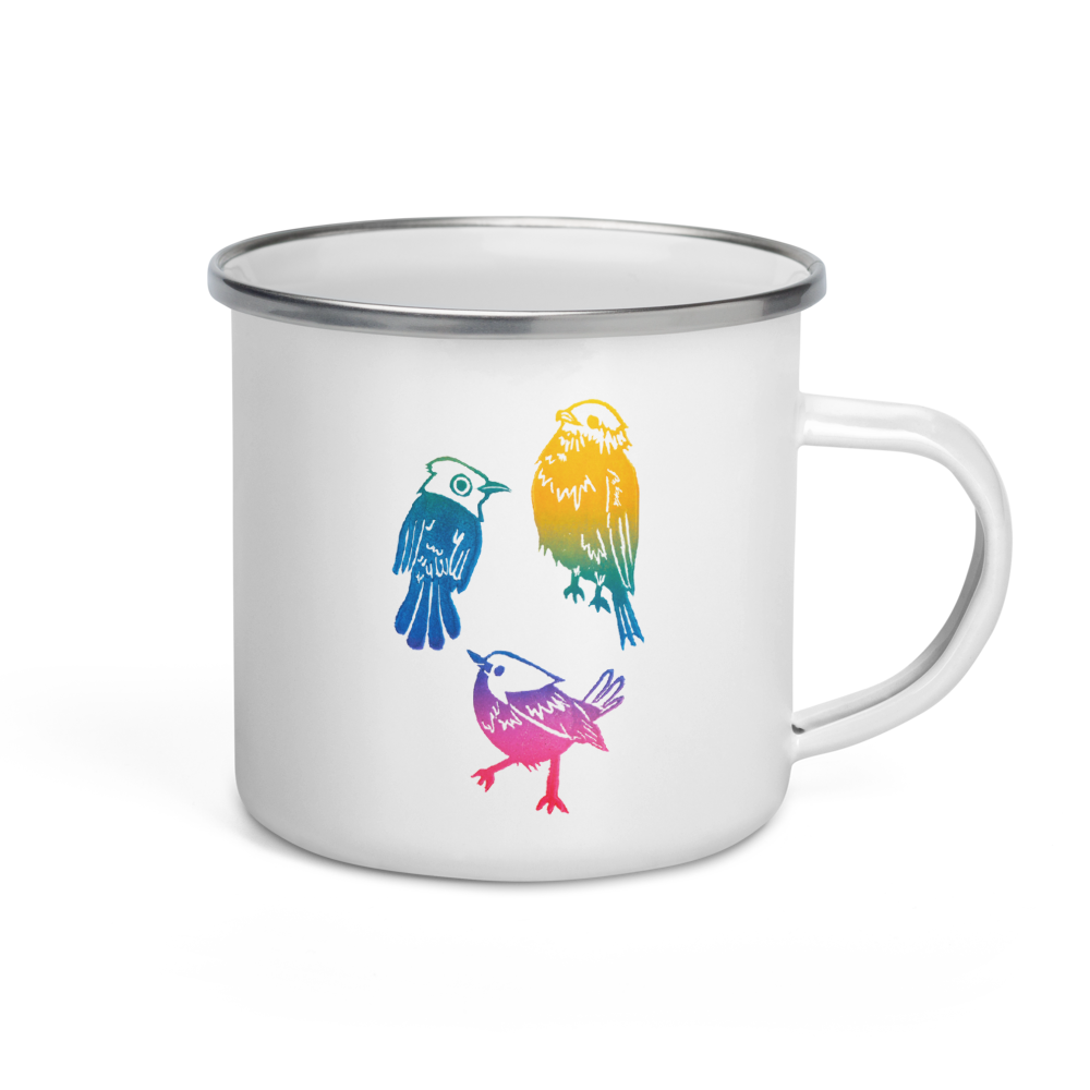 Every Little Thing Is Gonna Be Alright Enamel Mug