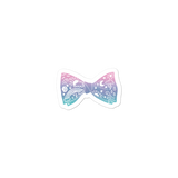 Astral Bow Tie Bubble-free Stickers
