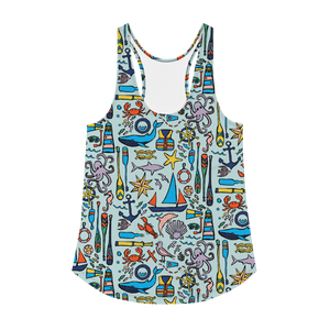Nautical Drifts Racerback Tank