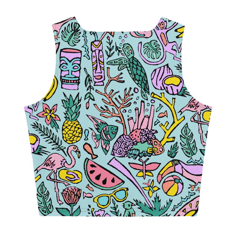 Tropical Fantasies Crop Top