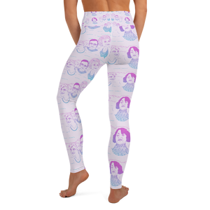 Mount Bushmore Yoga Leggings