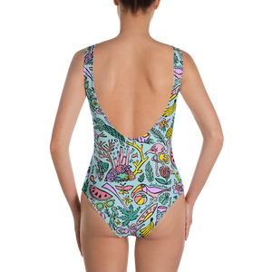 Tropical Fantasies One-Piece Swimsuit