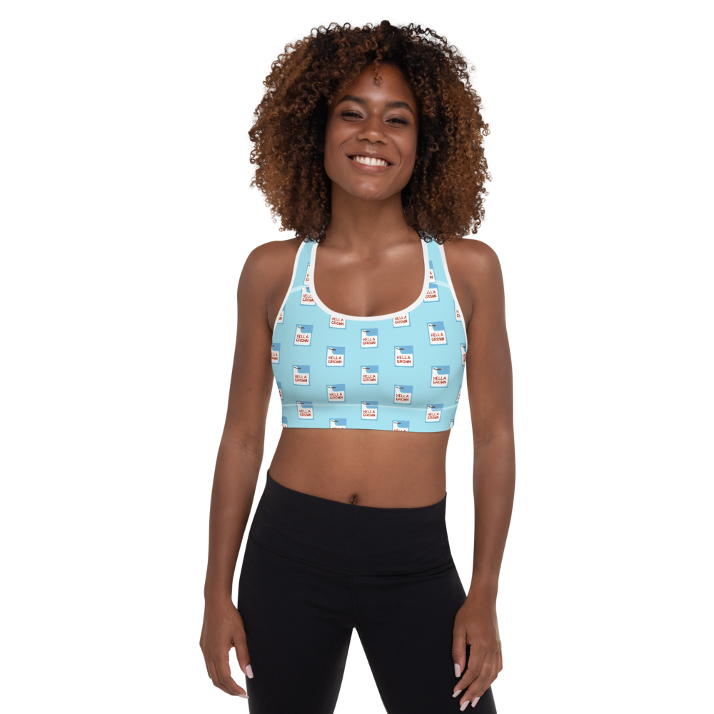 Hella Grown Padded Sports Bra
