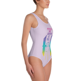 Females Are Strong As Hell One-Piece Swimsuit