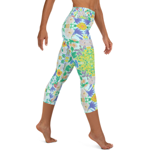 Garden for the Enlightenment Yoga Capri Leggings