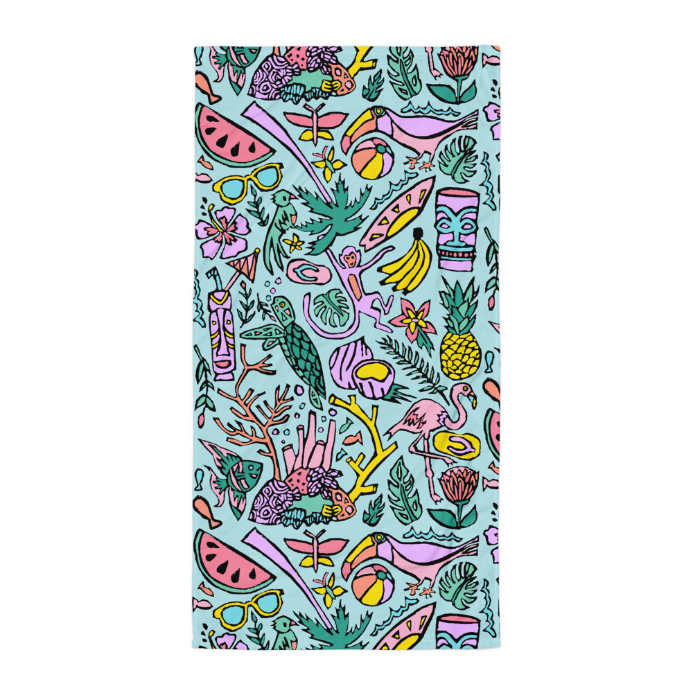 Tropical Fantasies Towel