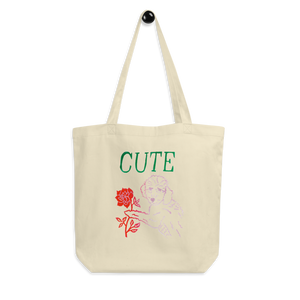 I Think You're Cute Eco Tote Bag
